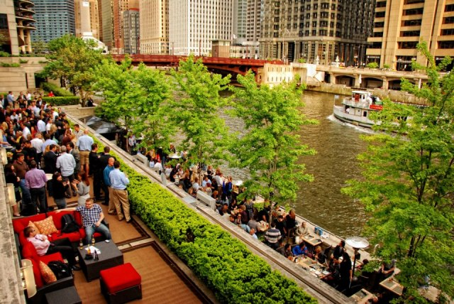 Bridge House Tavern Chicago Outdoor Patios
