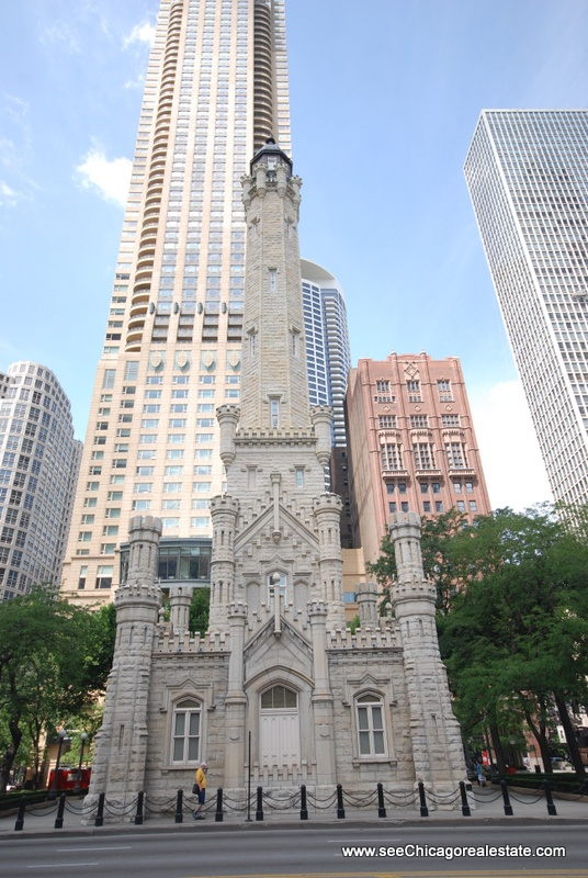Chicago's original Water Tower