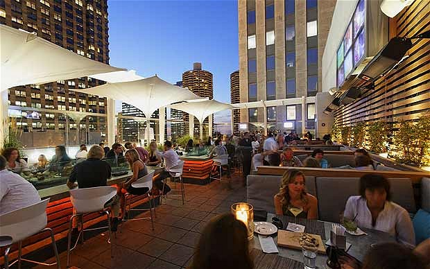 Rooftop at the Wit - Chicago Outdoor Patios