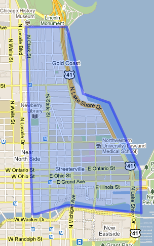 streeterville_real estate map